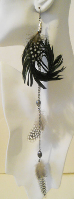 Feather Earrings-1795
