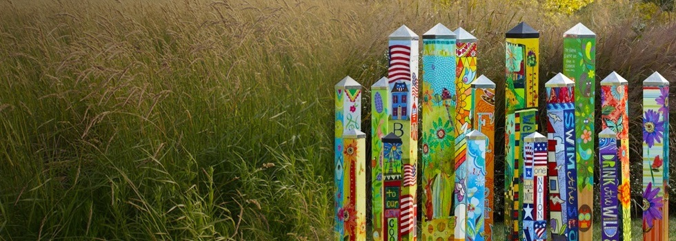 Art Poles for your Home and Garden