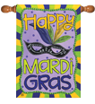 Mardi Gras Decorative Flags