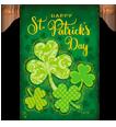 Saint Patricks Day Decorative Flags