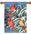 Winter Decorative Flags