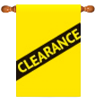Clearance Decorative Flags
