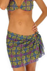 Tan through green Heat sarong.