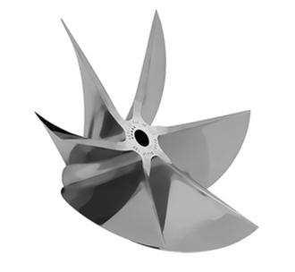 MERCURY CNC Machined PRO FINISH 6 Blade Cleaver (MCM Pro-Finish6 BLADE)