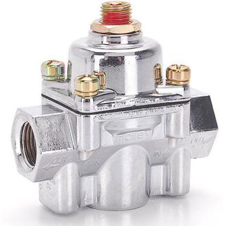 Holley Chrome Carbureted Fuel Pressure Regulator (HOL-12-804)