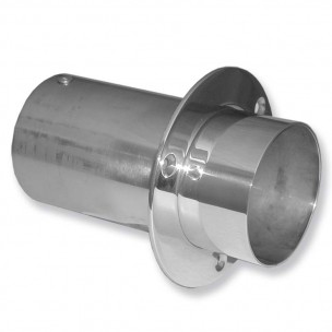 """IMCO 4"""" Straight Cut Exhaust Tips (Pair) (02-6300)"""