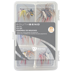 FLIES ASSORTED 25 PK W/BOX