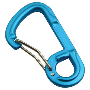 FORGED 6-SHAPED CARABINER ASST