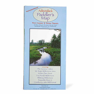ADIRONDACK PADDLER'S MAP