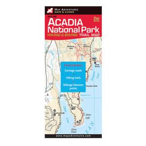 ACADIA HIKE/BIKE TRAIL MAP