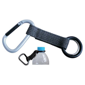 CARABINER W/BOTTLE CARRIER
