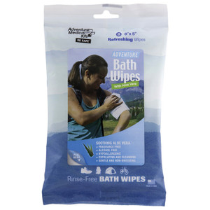 ADVENTURE BATH TRAVL WIPES-8pk