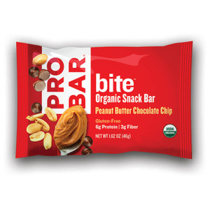 BITE P.BUTTER CHOCO CHIP BAR - 12ct. Case