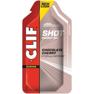 CLIF SHOT CHOC CHERRY GEL - 24ct. Case