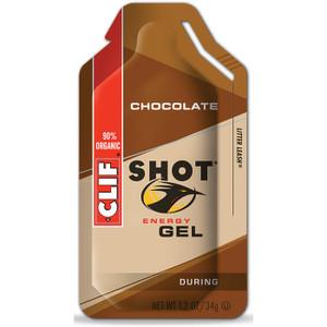 CLIF SHOT CHOCOLATE GEL - 24ct. Case