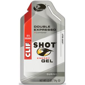 CLIF SHOT DOUBLE ESPRESSO GEL - 24ct. Case