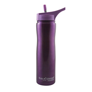 SUMMIT INSULATED 24 OZ PURPLE