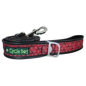 BOTTLE OPEN DOG LEASH 6FT RED
