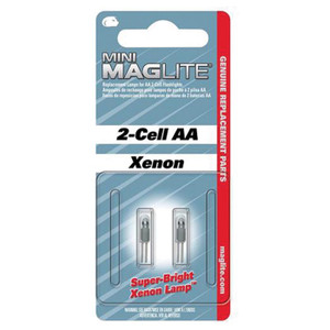AA MINI MAG KRYPTON BULB 2PK