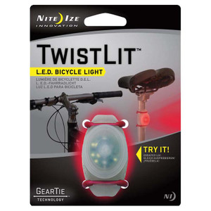 TWISTLIT LED BIKE LIGHT-RED