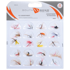 FLIES POPULAR ASSORT 20 PK