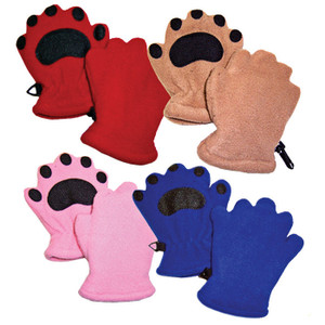 BEARHANDS TODDLER RED