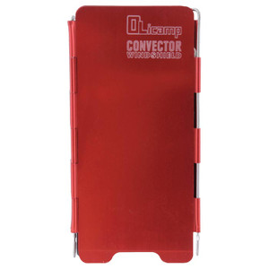 CONVECTOR WINDSHIELD-RED