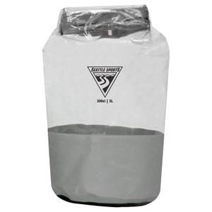 GLACIER CLEAR DRY BAG GREY 5L