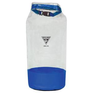 GLACIER CLEAR DRY BAG BLU 21 L