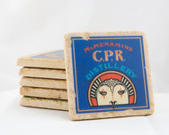 CPR Distillery Marble Coaster