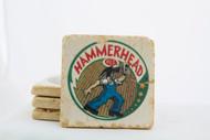 Hammerhead Ale Classic Logo Marble Coaster