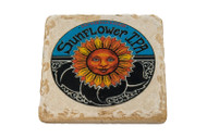 Sunflower IPA Marble Coaster