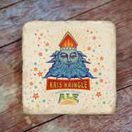 Kris Kringle Ale Marble Coaster