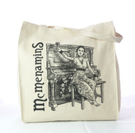 "McMenamins ""Piano Lady"" Canvas Tote Bag"
