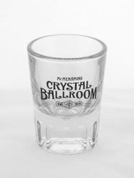 "Crystal Ballroom ""Est. 1914"" Shot Glass"
