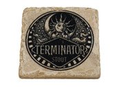Terminator Classic Logo Marble Coaster
