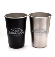 Crystal Ballroom Stainless Steel Pint