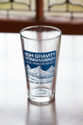 High Gravity Brewfest Pint Glass