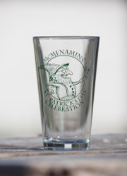 St Patricks Day Pint Glass