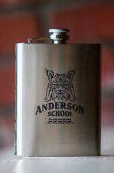 Anderson School Bobcat Flask - 8oz