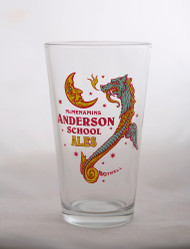 Anderson Ales Pint Glass