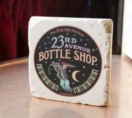 23rd Ave Bottle Shop Marble Coaster