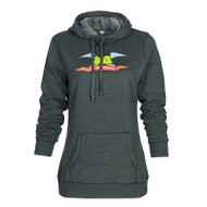 Flying Oregon Ladies Cowl Neck Hoodie