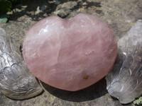 Star rose quartz heart (1429795998)