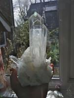 Dove wing quartz cluster SOLD (1459244685)