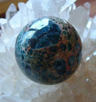 Blue Apatite sphere (1264085950)