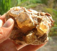 Honey Calcite (1251115049)