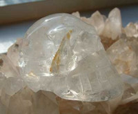Clear Quartz Crystal Skull (1257263383)