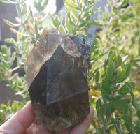 Citrine Rutilated Hematite combination (1425983563)