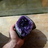 Amethyst geode Uraguay (111620)